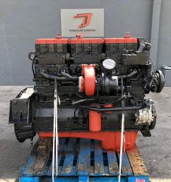 used 1992 cummins n14 celect complete engine truck parts 2340 [ 1024 x 768 Pixel ]