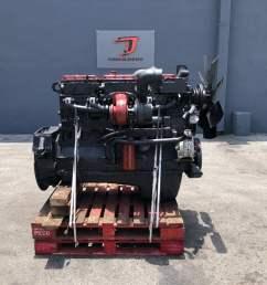 used 1991 cummins n14 complete engine truck parts 2352 [ 1024 x 768 Pixel ]
