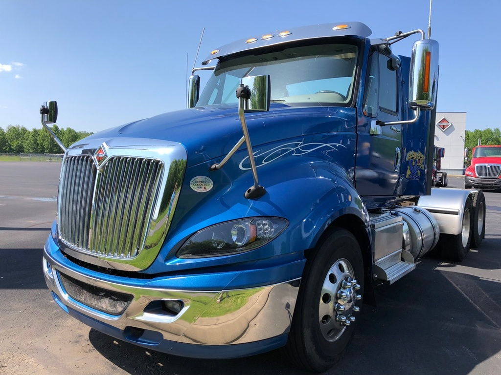 hight resolution of used 2015 international prostar tandem axle daycab truck 1127
