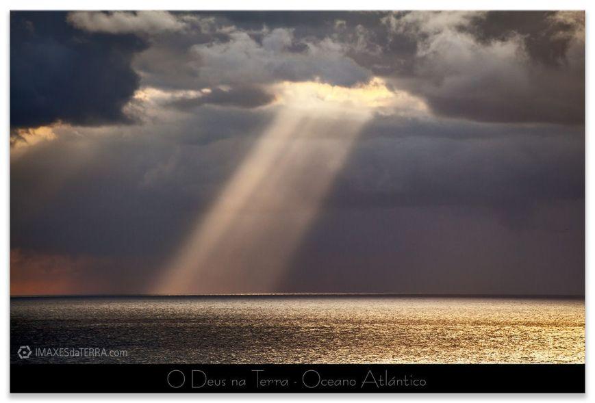 O Deus na Terra Oceano Atlántico fotografía de Galicia Paisajes Gallegos Cabo Touriñan Decoración Naturaleza