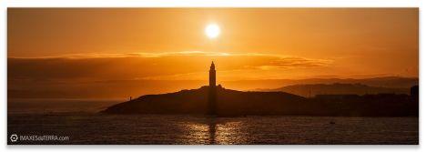 Comprar fotografía, paisaje, faros de Galicia, Torre de Hércules, A Coruña, Galicia, decoración.