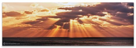 Comprar fotografía Puesta de Sol Cabo Touriñan Muxía Galicia Decoración paisajes