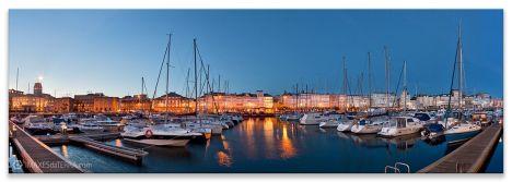 Mariña Coruña, Comprar fotografía de Galicia A Coruña A Mariña Galerías Náutico Decoración Panorámica