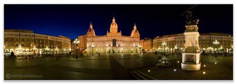 Comprar fotografía de Galicia A Coruña Plaza de María Pita Decoración Panorámica