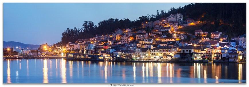 Atardecer en Combarro, Comprar fotografía Galicia Combarro Pueblo con encanto costa verano Pontevedra Vacaciones