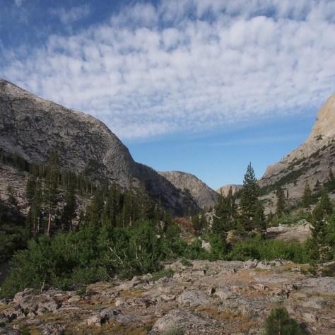 Into Piute Canyon.