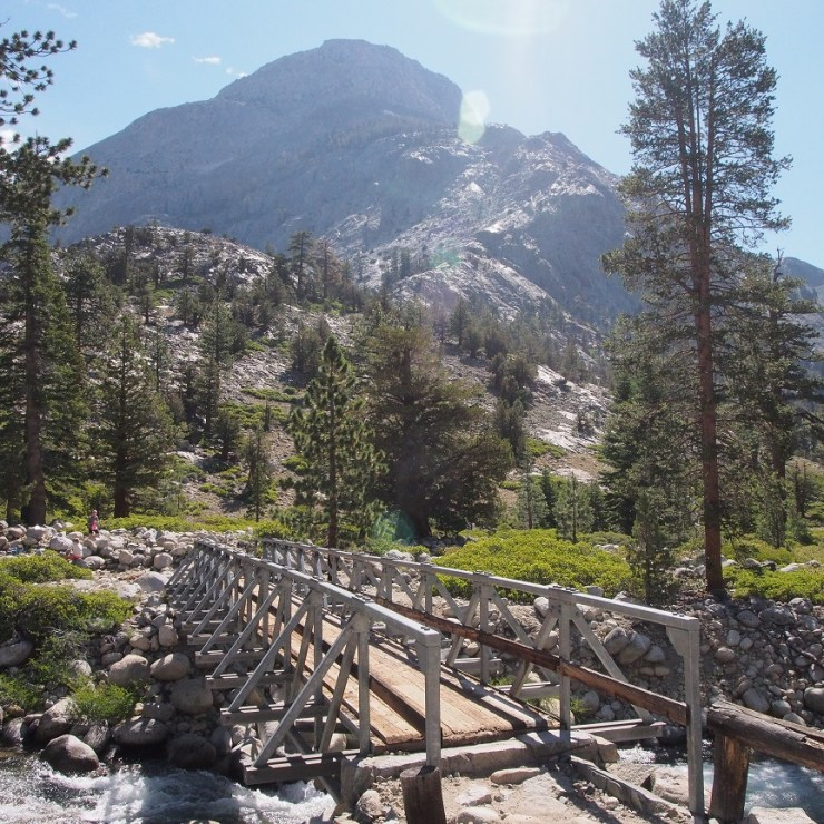 Bridge at junction with the John Muir Trail.