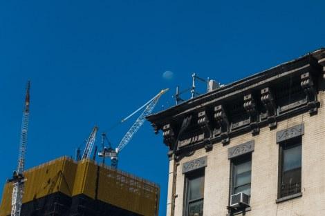 Sunday - Moon and crane