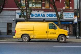 Friday Morning - Yellow Van