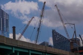Monday - Cranes