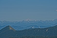 Mt Baker(100+ miles away) and the Central and North Cascades
