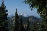 Mt Olympus from the Switchback Trail