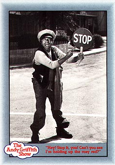 Barns Mayberry Collector Card 118