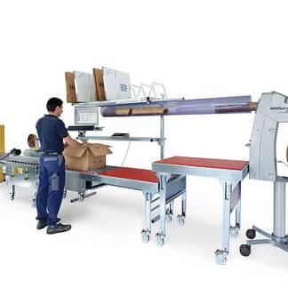 Macchine e tavoli per imballaggio