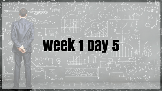 Week 1 Day 5 – Data Structures & Algorithms