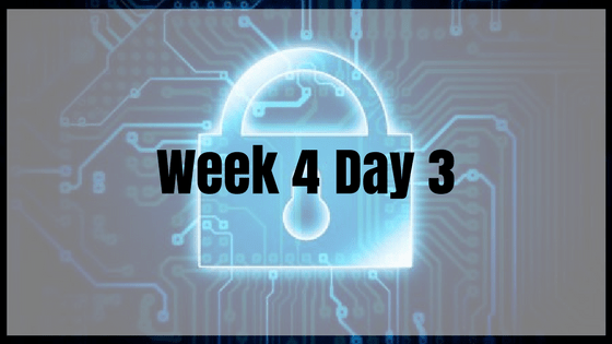 Week 4 Day 3 – More Authentication!
