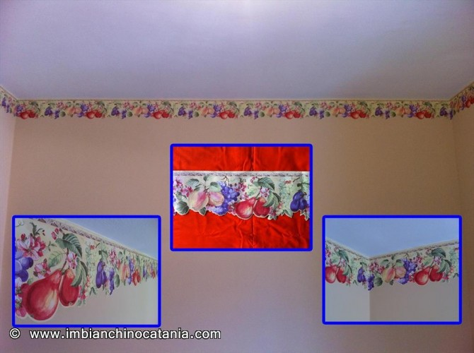 Bordo decorativo per cucina  Pittura  Decorazione