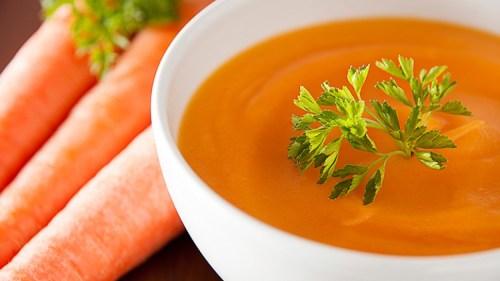 как приготовить морковно-имбирный суп с курицей