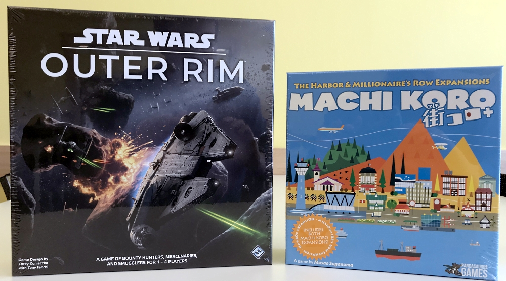 New Star Wars and Machi Koro for Your Thursday!