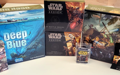 Friday's New Games Feature Days of Wonder and Star Wars!