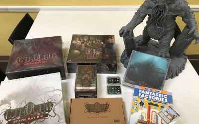 Cthulhu: Death May Die and Fantastic Factories Kickstarter Pledges Have Arrived!