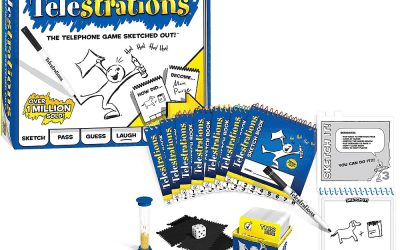 12 Sales 'til Christmas for Friday, Dec 13 features Telestrations at 25% off! But you need the secret phrase!