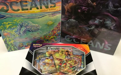 Oceans Kickstarter Editions are In – Read On to Learn The Differences!
