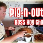 Deputy Kirksey Of The Lawrence County Sheriff's Department Attacked By Huge Sandwich At Pig-N-Out