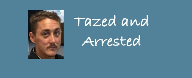 Fugitive with warrants tazed and arrested