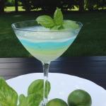 Basil Lime Martini