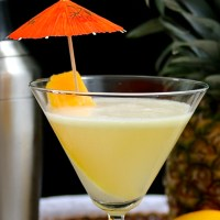Coconut Mango Martini