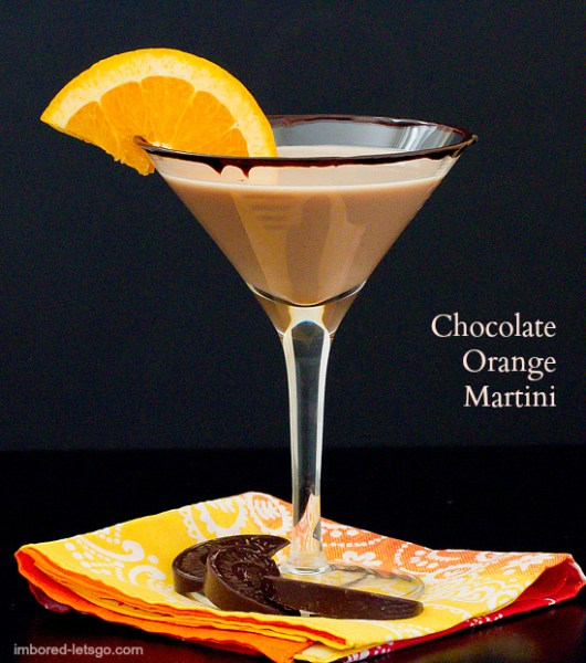 Chocolate Orange Martini