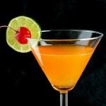 Tangerine Passionfruit Rum-tini