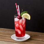 Cherry Basil Spritzer
