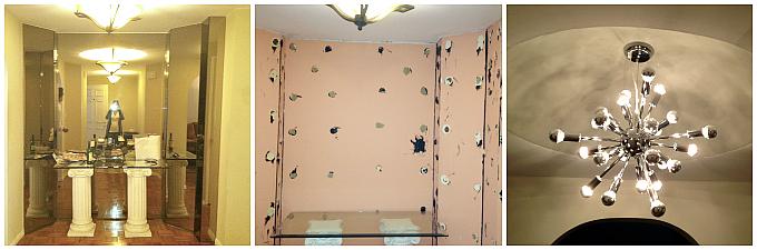 Condo Renovations - Foyer Mirror Removal