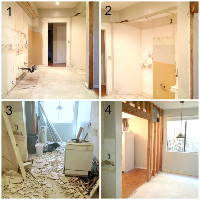 Galley Kitchen Remodel Remove Wall Prepossessing Renovation Before After Photos Im Bored