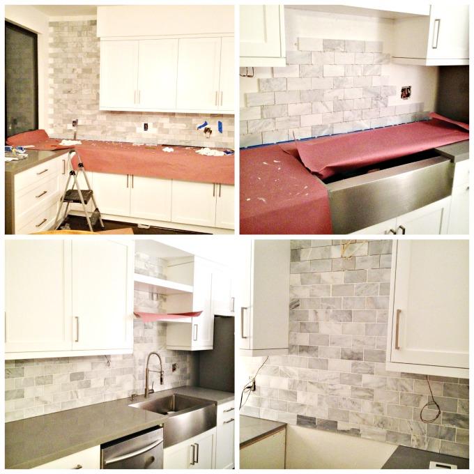 Kitchen Tile Collage