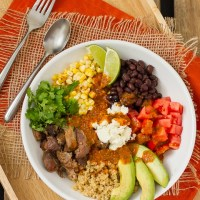 Mexican Quinoa Bowl