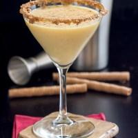 Egg Nog Martini