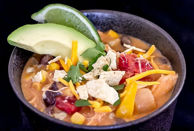 Creamy Enchilada Soup