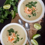 Coconut Curry Cauliflower Soup