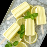 Limoncello Pudding Popsicles