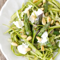Shaved Asparagus Salad with Lemon Vinaigrette