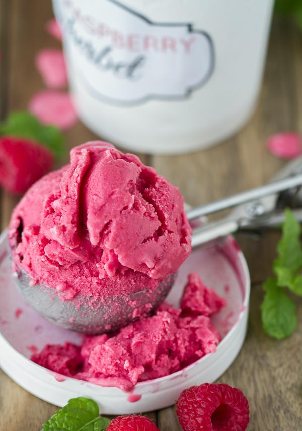 Raspberry-Sherbet