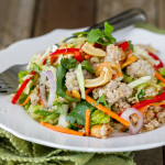 Thai Pork Quinoa Salad