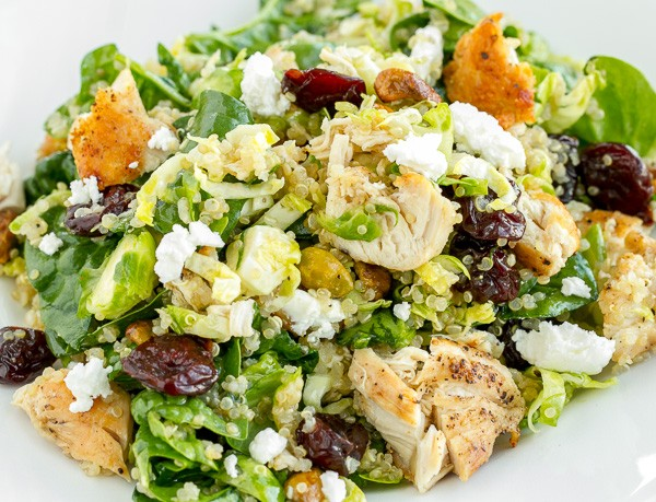 Quinoa Cherry Chicken Salad