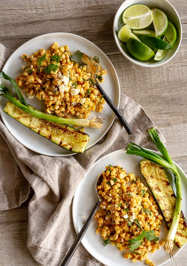 Mexican Grilled Street Corn Salad