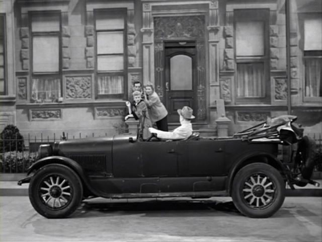 1924 Cadillac V 63 Touring Car In I Love Lucy