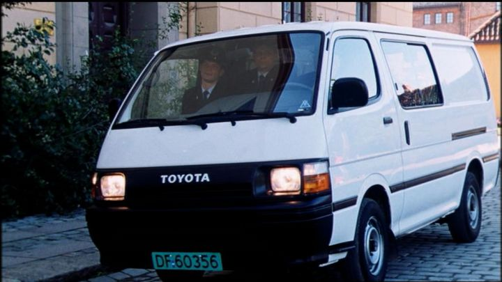 Imcdb Org 1990 Toyota Hiace 2 0 H100 In Quot Olsenbandens