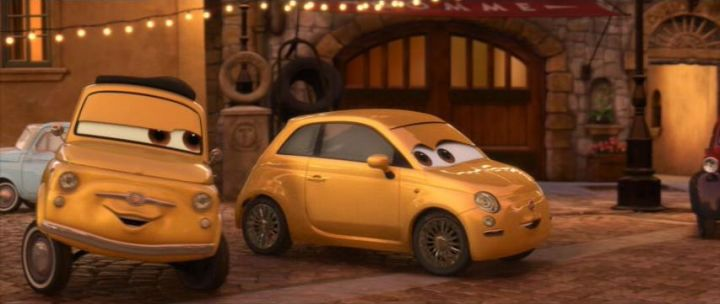 Imcdb Org 2007 Fiat 500 312 In Quot Cars 2 2011 Quot